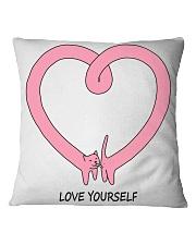 Love yourself HV9 Square Pillowcase thumbnail