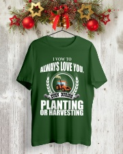 I VOW TO ALWAYS LOVE YOU VA95 Classic T-Shirt lifestyle-holiday-crewneck-front-2