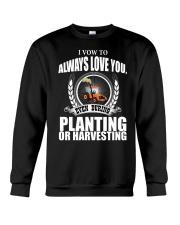 I VOW TO ALWAYS LOVE YOU VA95 Crewneck Sweatshirt thumbnail