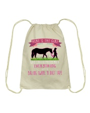 The Girl Can Fix Everything DT11 Drawstring Bag thumbnail