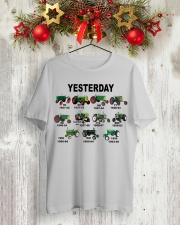 Yesterday TT99 Classic T-Shirt lifestyle-holiday-crewneck-front-2