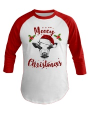 Mooey Christmas HN57 Baseball Tee front