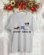 Wiener Takes All NT29 Classic T-Shirt lifestyle-holiday-crewneck-front-2