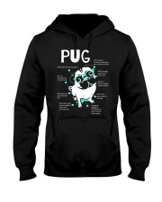 Anatomy Of A Pug TT99 Hooded Sweatshirt thumbnail