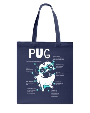 Anatomy Of A Pug TT99 Tote Bag thumbnail
