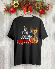 Is this jolly enough German Shepherd VD14 Classic T-Shirt lifestyle-holiday-crewneck-front-2