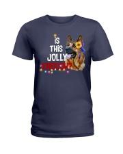 Is this jolly enough German Shepherd VD14 Ladies T-Shirt thumbnail