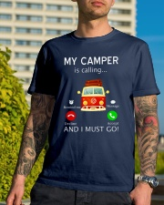My Camper is Calling VD14 Classic T-Shirt lifestyle-mens-crewneck-front-8