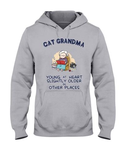 Cat Grandma Young At Heart NT29