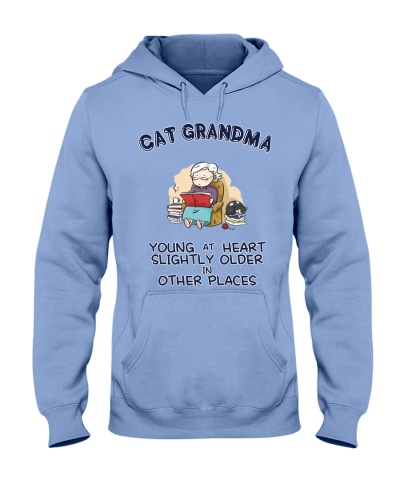 Cat Grandma Young At Heart NT29