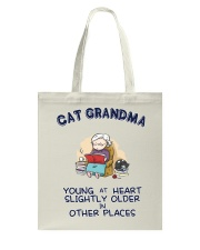 Cat Grandma Young At Heart NT29 Tote Bag tile