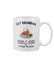 Cat Grandma Young At Heart NT29 Mug tile