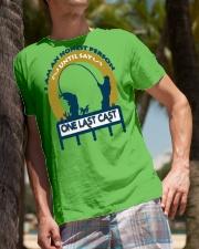 I am an honest person until say One last cast  HV9 Classic T-Shirt lifestyle-mens-crewneck-front-10