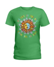 Live By The Sun Love By The Moon NO96 Ladies T-Shirt thumbnail
