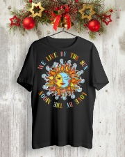 Live By The Sun Love By The Moon NO96 Classic T-Shirt lifestyle-holiday-crewneck-front-2