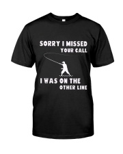 Sorry i missed your call-QT00 Classic T-Shirt front