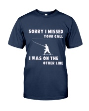 Sorry i missed your call-QT00 Classic T-Shirt thumbnail