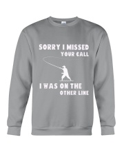 Sorry i missed your call-QT00 Crewneck Sweatshirt thumbnail