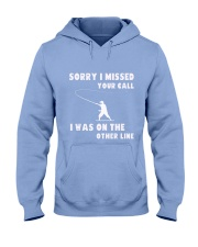 Sorry i missed your call-QT00 Hooded Sweatshirt thumbnail
