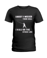 Sorry i missed your call-QT00 Ladies T-Shirt thumbnail