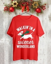 Walking In A Wiener Wonderland HN57 Classic T-Shirt lifestyle-holiday-crewneck-front-2