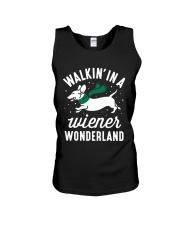 Walking In A Wiener Wonderland HN57 Unisex Tank thumbnail