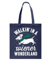Walking In A Wiener Wonderland HN57 Tote Bag thumbnail