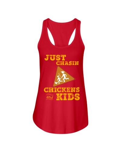 Just Chasin Chickens And Kids VA95