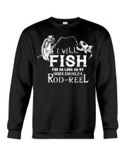 I Will Fish For As Long As I Can AY81 Crewneck Sweatshirt thumbnail