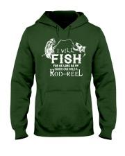 I Will Fish For As Long As I Can AY81 Hooded Sweatshirt thumbnail