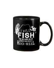 I Will Fish For As Long As I Can AY81 Mug thumbnail