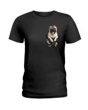Pug Pocket TM99 Ladies T-Shirt thumbnail