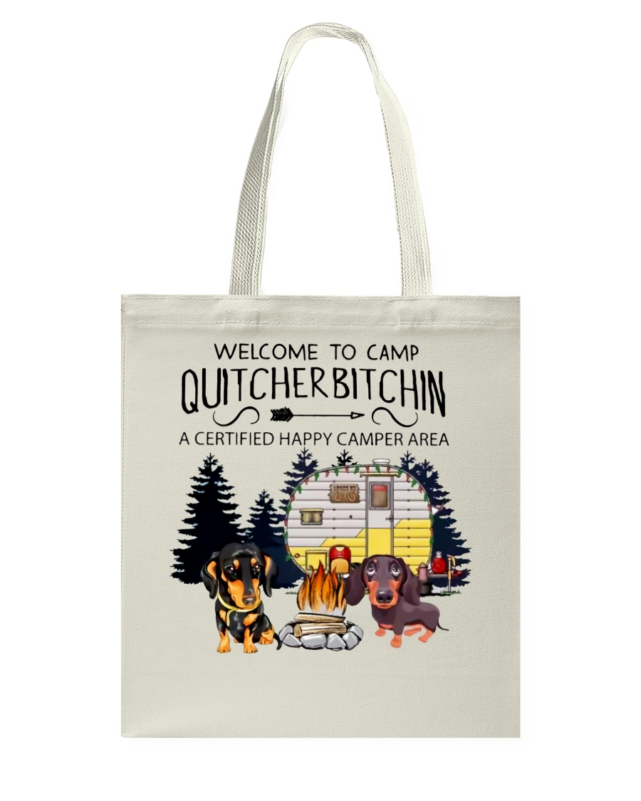 Welcome to Camp Quitcherbitchin VD14 Tote Bag