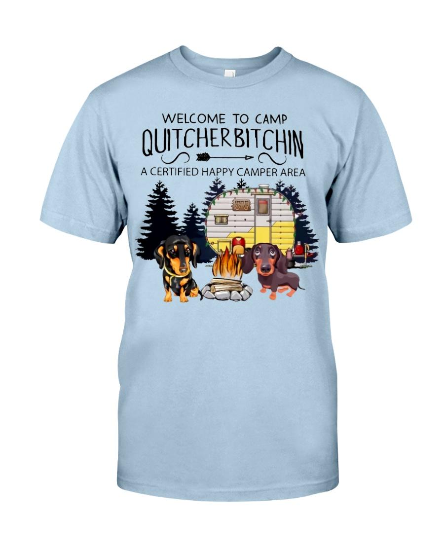 Welcome to Camp Quitcherbitchin VD14 Classic T-Shirt