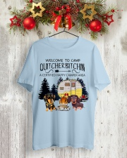 Welcome to Camp Quitcherbitchin VD14 Classic T-Shirt lifestyle-holiday-crewneck-front-2