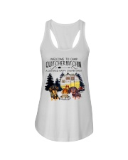 Welcome to Camp Quitcherbitchin VD14 Ladies Flowy Tank thumbnail