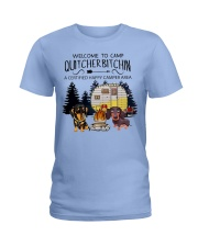 Welcome to Camp Quitcherbitchin VD14 Ladies T-Shirt thumbnail