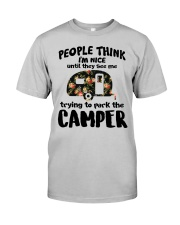 People Think I'm Nice Camping TN29 Classic T-Shirt front