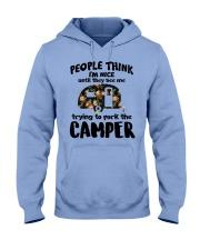 People Think I'm Nice Camping TN29 Hooded Sweatshirt thumbnail