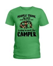 People Think I'm Nice Camping TN29 Ladies T-Shirt thumbnail