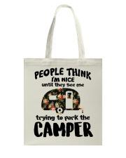 People Think I'm Nice Camping TN29 Tote Bag thumbnail