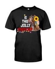 Is this jolly enough Pitbull lover VD14 Classic T-Shirt front