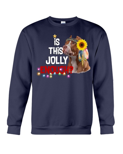 Is this jolly enough Pitbull lover VD14