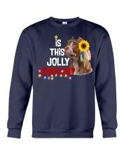 Is this jolly enough Pitbull lover VD14 Crewneck Sweatshirt thumbnail