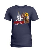 Is this jolly enough Pitbull lover VD14 Ladies T-Shirt thumbnail