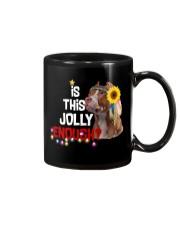 Is this jolly enough Pitbull lover VD14 Mug thumbnail