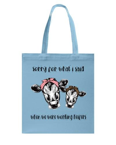 When We Were Working Heifers LU88