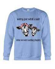 When We Were Working Heifers LU88 Crewneck Sweatshirt thumbnail
