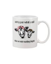 When We Were Working Heifers LU88 Mug thumbnail