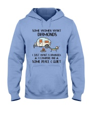 I Just Want HT10 Hooded Sweatshirt tile